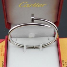Unique Cartier Juste Un Clou Silver Nail Shape Narrow Bangle Newest Design Women/Men Price Canada B6041817