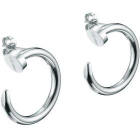 Cartier Juste Un Clou Silver Hoop Earrings Nail Design For Lady US Price List