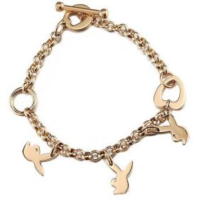 Cartier Bunny Charms Gold-plated Chain Bracelet For Women Singapore Good Review Street Style