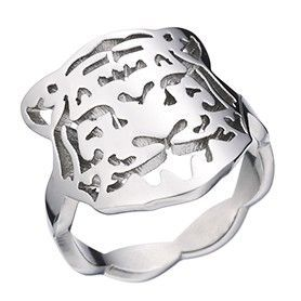 Panthere De Cartier Leopard Head Hollow Silver Ring For Women And Men Cool Style NYC