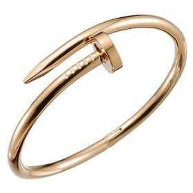 Cartier Juste Un Clou Fake Yellow Gold-plated Screw Modeling Bangle Price Singapore Girls/Boys Sale B6048217